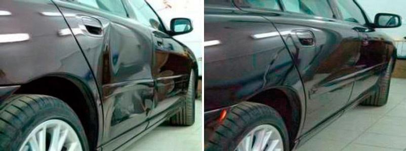 фото ремонт автомобильных дверей в белгороде