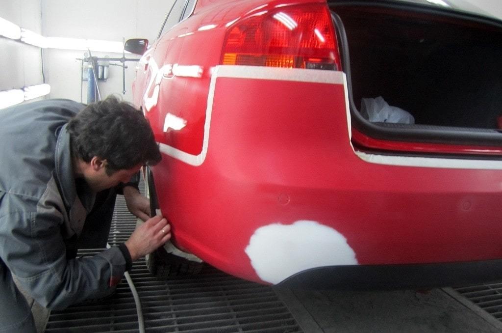 фото локальная покраска авто в белгороде