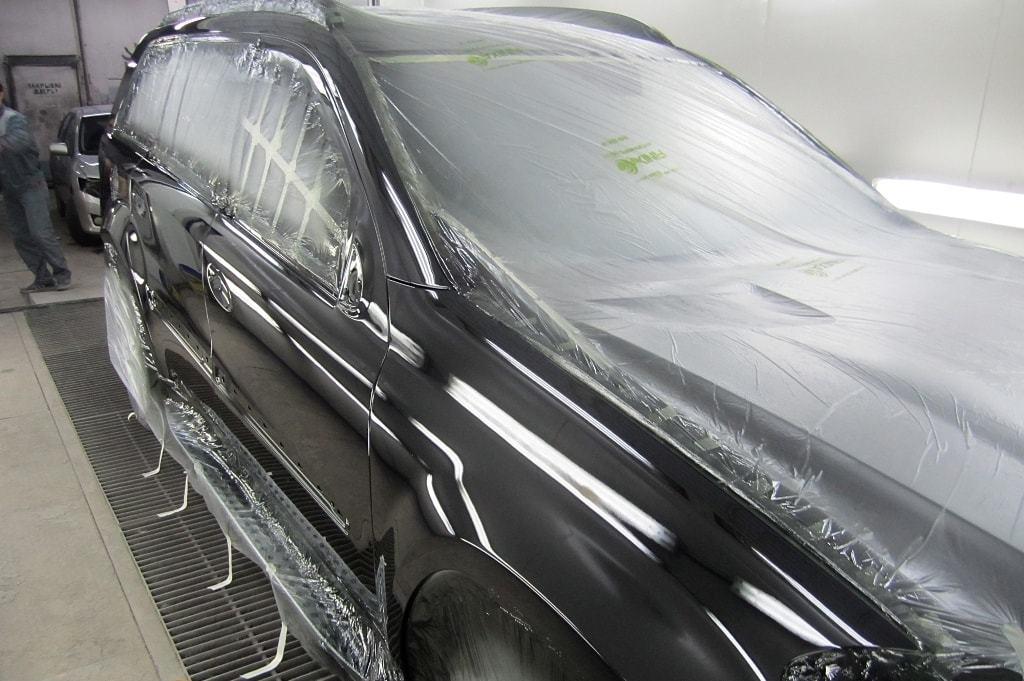 фото покраска элемента авто
